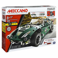 MECCANO 5 Model Set - Roadster w. Pull Back Motor 6040176