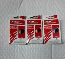 Ink Cartridge for Canon Printers GC-C0008 R GC-0008 BK GC-0008 C Black Red Cyan