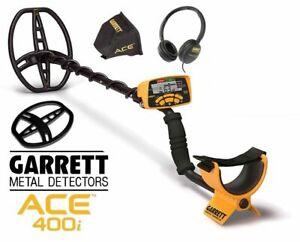 GARRETT ACE 400i  + FREE accessories