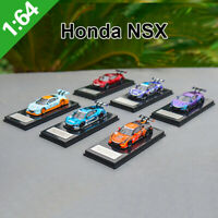 1:64 Scale Honda NSX CONCEPT-GT GT500 Diecast Model Car Toy Vehicles with Case