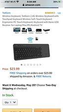 Wireless Touch Keyboard TEDGE Open Box (J)