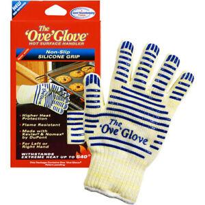 OVE GLOVE Oveglove Oven Kitchen Glove Mitt Upto 540 Deg Washable One Pair