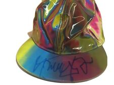 MICHAEL J FOX SIGNED BRAND NEW BACK TO THE FUTURE HAT Marty McFly cap COA PROOF