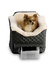 """Snoozer Pet Lookout II ~ Medium Quilt BLACK ~ BRAND NEW 19"""" H X 22"""" W X 17"""" L"""