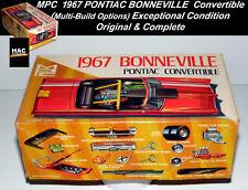 Pristine 1967 Bonneville Pontiac Convertible Funny Car MPC Model Kit 1067-150