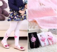 Chaussettes chaudes de collants de coton d'enfants de bébé d'enfant en bas  IY