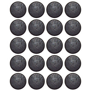 20 Pack of Round Button Magnets - 12mm Diameter, 4mm Height - for Hobby or Craft