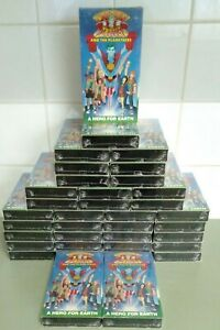 BULK LOT OF 36 CAPTAIN PLANET AND THE PLANETEERS A HERO FOR EARTH SEALED NTSC