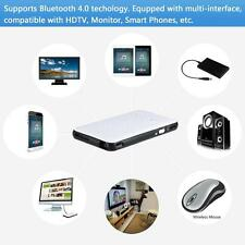 Android 4.4 DLP LED Projector + Smart TV BOX 8GB WiFi HDMI for Smart Phones