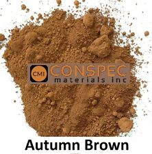 Custom curbing concrete edging landscaping Borders DIY Color AUTUMN BROWN 3 LBS