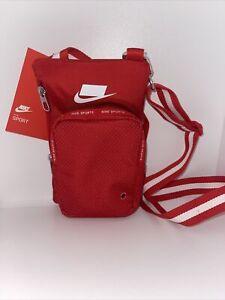 Nike RED Sports Adjustable Strap Crossbody Bag (2019NWT)