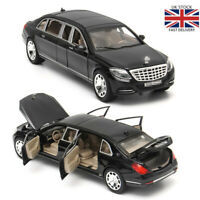 1:32 Mercedes Maybach S650 Limousine Diecast Metal Model Car Toy Xmas Gift Toys