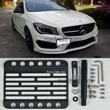 EOS Tow Hole Hook License Plate Bracket For 14-Up Benz CLA45 AMG & Sport Package