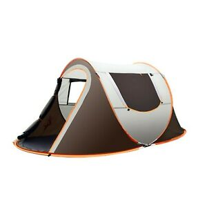 Tent Outdoor Camping Waterproof Up Pop Instant Person Hiking Portable Shelter