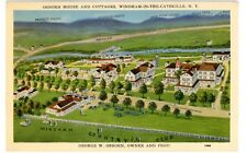 Windham NY - OSBORN HOUSE & COTTAGES - Landis & Alsop Postcard Catskills