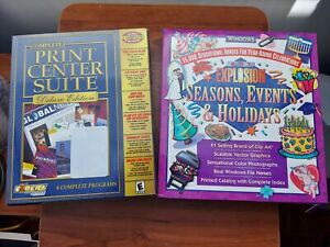 Art Explosion CD, Seasons Events & Holidays clip art and Print Center Suite