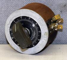 Superior Electric Company Type 10b Powerstat Variable Transformer Variac