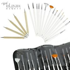 Elixir  20pcs Nail Art Design Painting Dotting Pen Brushes Tool  Set / Nail Kit