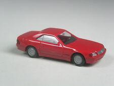 Wiking modello pubblicitari Mercedes 500 SL Coupé Speciale Colore Rosso
