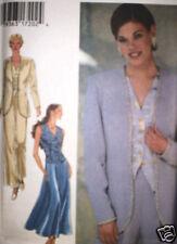 UNCUT Vintage Style SEWING Pattern 8 10 12 14 16 18 Jacket Skirt Pants 2670 OOP