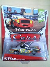 DISNEY PIXAR CARS DARRELL CARTRIP with HEADSET 1:55 SCALE