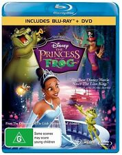 The Princess And The Frog (Blu-ray, 2010) kids movie