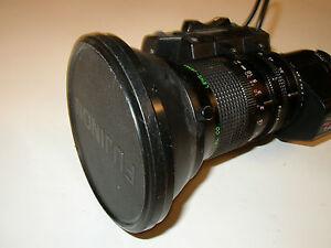 Fujinon Pegasus II A14x9B ERM-28 Video Camera Lens 1:1.7/9 126mm