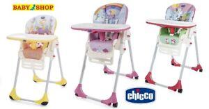 High chair CHICCO Polly Easy Children's chair Feeding chair