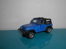 18.02.18.1 jeep wrangler bleu Voiture SIKU 1/60 1/55 environ
