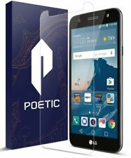 Poetic® LG X Charge Anti-Fingerprint HD Tempered Glass Screen Protector Clear