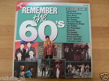 LP RECORD VINYL REMEMBER THE 60.S VOLUME 1 TWO RECORD SET TV-2-LP ARCADE 1983