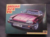 Hasegawa Jaguar XJ S V12 1/24 Scale Car Plastic Model Kit Display PM530