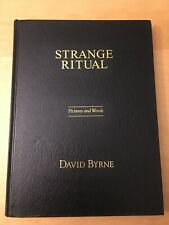 Strange Ritual: Picture And Words By David Byrne (Talking Heads Singer) 1995