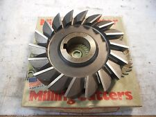 """NIAGARA 5"""" x 3/4"""" x 1 1/4"""" PARABOLIC TOOTH Side Milling Cutter USED in EX CON"""