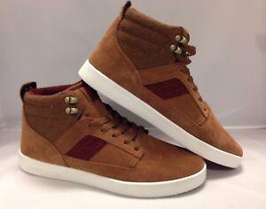 Supra Men's Shoes ''Bandit''--Brown/Red Herringbone white