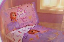 4 pc Disney Junior Sofia The First Toddler Bed Set NIP