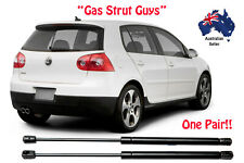 2 x NEW Volkswagen VW GOLF Boot Hatchback Hatch Gas Struts MK5 2003 TO 2009