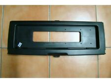 Autobianchi A112 License Plate Holder Rear Frame