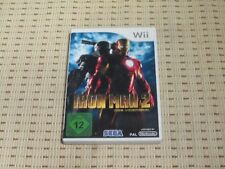 Iron Man 2 (le jeu vidéo) pour nintendo wii et wii u * OVP *