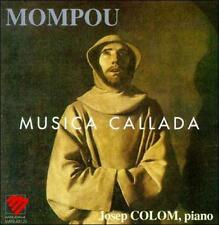 MOMPOU: MUSICA CALLADA NEW CD