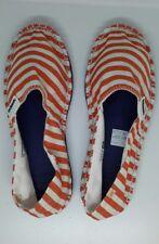 Havaianas Unisex Espadrilles Orange Stripe Beach Slip on Summer Shoes UK 3 Eu37