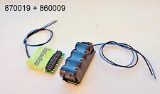 Decodeur 21MTC DCC decoder LaisDcc 870019 KungFu serie + Powerpack 860009