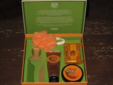 "THE BODY SHOP ""SATSUMA ESSENTIAL SELECTION"" SET IN BOX (NO SHOWER GEL) -- NEW!!!"