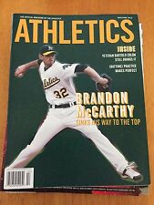 Oakland Athletics A's Magazine McCarthy  Cover May/June 2012