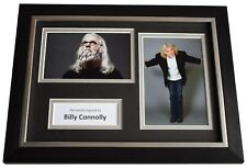 More details for billy connolly signed a4 framed autograph photo display scotland comedy  coa