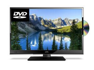 "CELLO 16"" INCH TV 12v VOLT TV DVD FULL HD LED TV FREEVIEW HD USB CARAVAN TV"