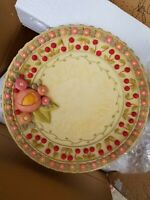 Mary Engelbreit Bowl Flower and Dot Welcome To Our Garden New RARE In The Garden