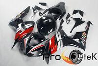 For 2006-2007 Honda CBR1000RR Red Black ABS Plastic Injection Fairings Bodywork