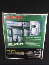 New Toshiba SD-43HT DVD Receiver 5.1 Speaker Home Theater System 320 Total Watts