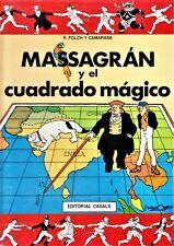 MASSAGRÁN 3: Y EL CUADRADO MÁGICO de Madorell. Castellano.